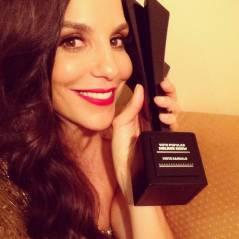 Ivete Sangalo arrasa como apresentadora no Prêmio Multishow e ainda leva troféu