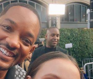 """Larissa Manoela esclarece """"polêmica"""" com selfie ao lado de Will Smith: """"Achei até que ele deu atenção a mais"""""""