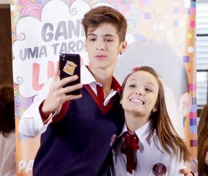 """João Guilherme e Larissa Manoala namoram em """"As Aventuras de Poliana"""""""