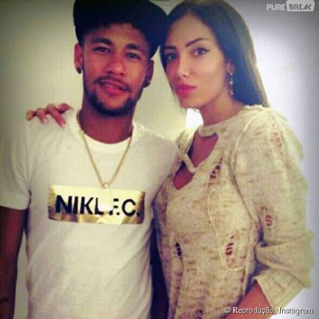 Neymar estaria namorando a modelo sérvia Soraja Vucelic