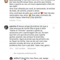 Anitta representa bem o desespero de ter os pais nas redes sociais - ainda mais no Dia dos Namorados