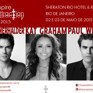 "Elenco de ""The Vampire Diaries"" no Brasil? Conheça o evento ""Vampire Attraction"""