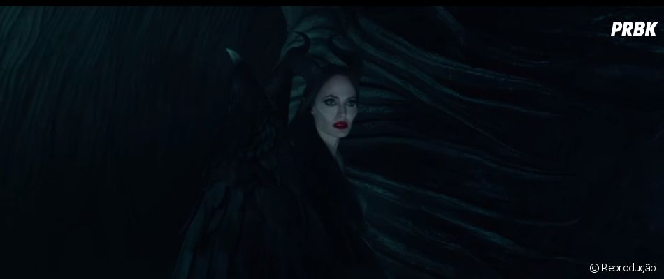 """Malévola (Angelina Jolie) está com sangue nos olhos no novo trailer de""""Malévola: Dona do Mal"""""""