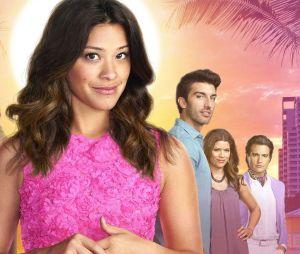 """Jane the Virgin"": Jane (Gina Rodriguez) fica paranoica e acha que Mateo(Elias Janssen) foi trocado na maternidade"