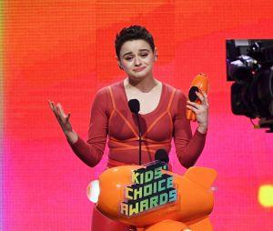 A atriz Joey King já levou o prêmio de Atriz de Cinema Favorita no Kids Choice Awards 2019