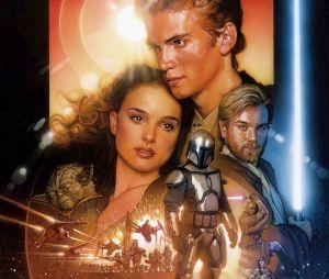 """Em """"Star Wars: Episódio II - Ataque dos Clones"""", Anakin Skywalker (Hayden Christensen) está mais velho e começa a ser treinado para ser um Jedi por Obi-Wan Kenobi (Ewan McGregor)"""