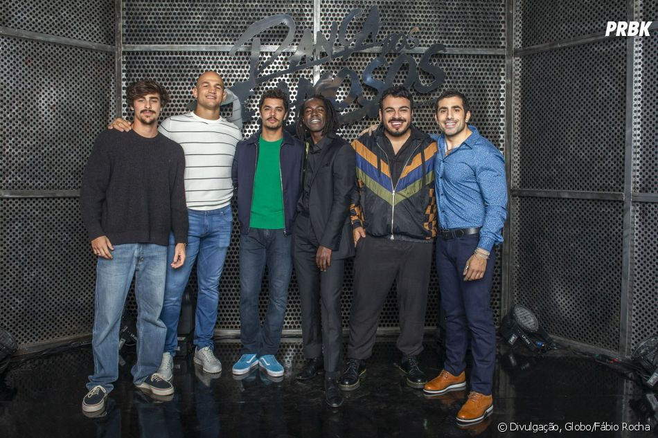 """""""Dança dos Famosos 2019"""": Bruno Montaleone, Junior Cigano, Matheus Abreu, Jonathan Azevedo, Luis Lobianco e Kaysar Dadour estão empolgados para começar"""