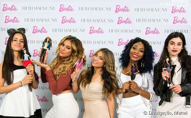 Dinah,Normani,Ally,LaureneCamila apresentam suas bonecasem parceria com a Mattel