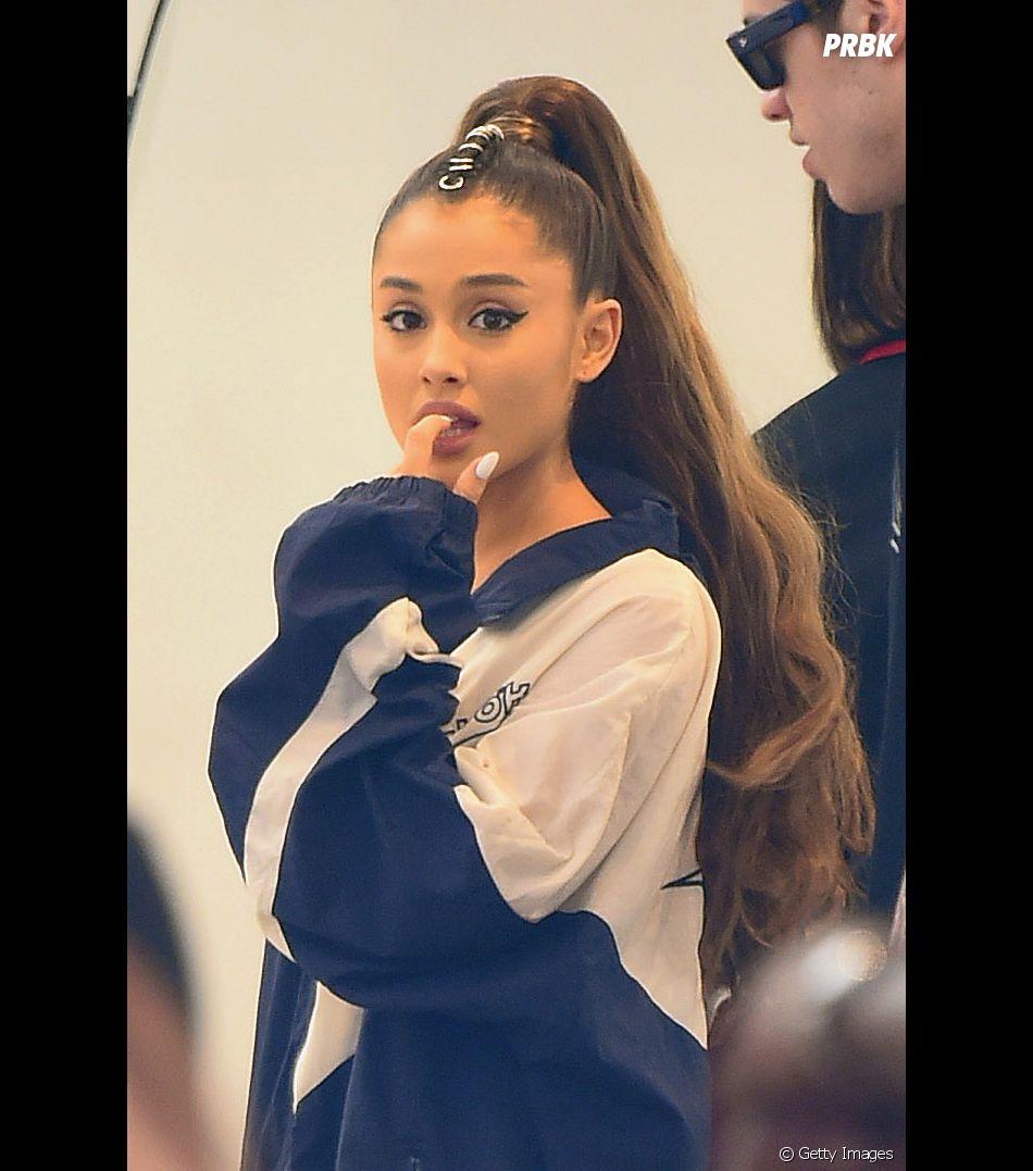 Ariana Grande cancelou Meet & Greet para cuidar da voz
