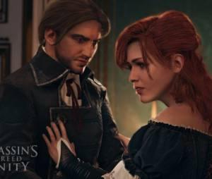 """Um par romântico em """"Assassin's Creed Unity"""""""