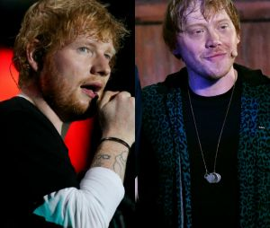 Top Break: Ed Sheeran, Rupert Grint e mais famosos que se parecem