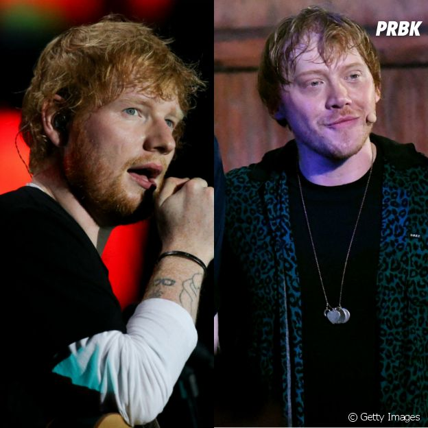 Top Break: Ed Sheeran, Rupert Grint e mais famosos que se parecem