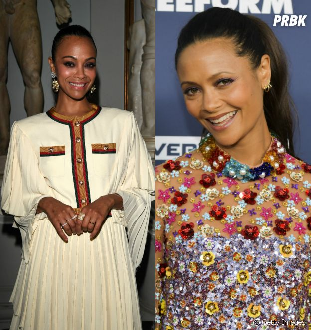 Top Break: Zoe Saldana, Thandie Newton e mais famosos que se parecem