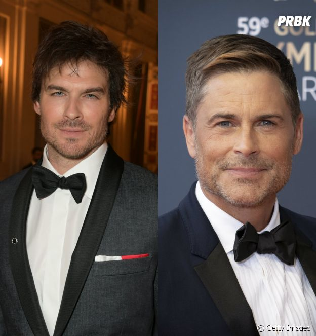 Top Break: Ian Somerhalder, Rob Lowe e mais famosos que se parecem