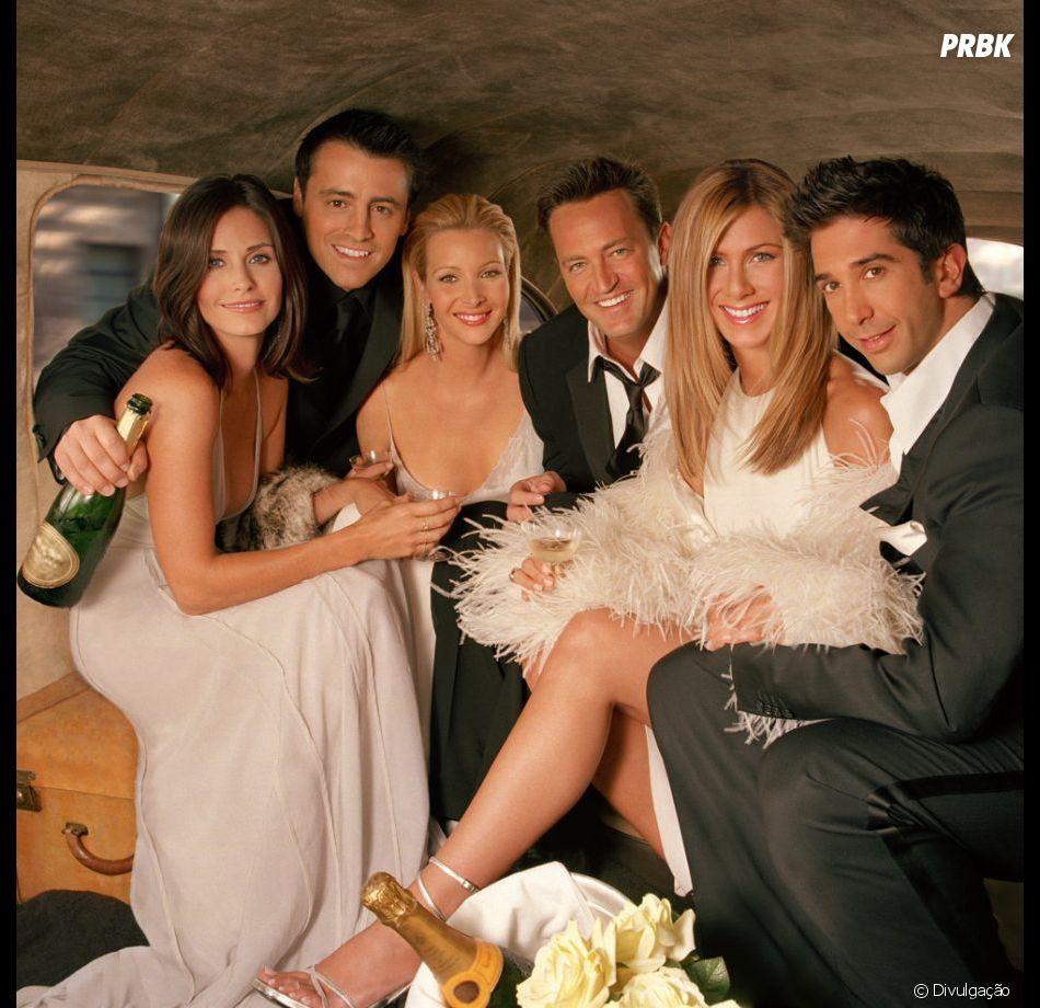 """O elenco de """"Friends"""" está reunido em foto publicada por Jennifer Aniston em seu Instagram"""