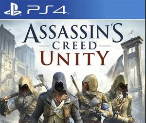 "A nova capa de ""Assassin's Creed Unity"""