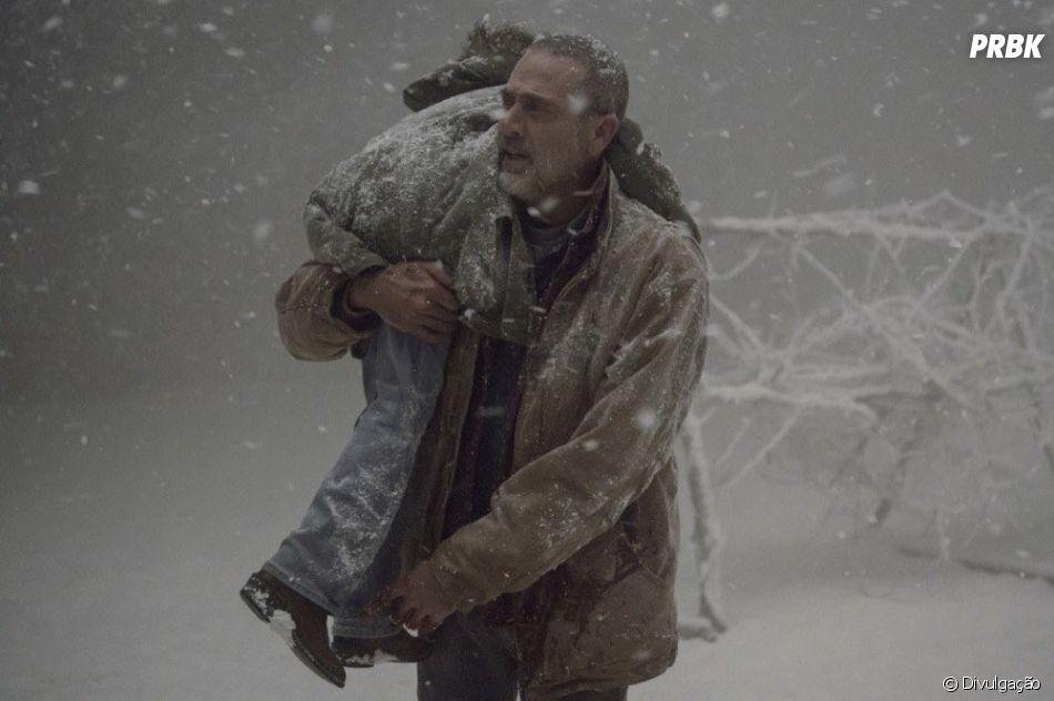 """""""The Walking Dead"""": Negan (Jeffrey Dean Morgan) já vinha apresentando uns comportamentos positivos"""