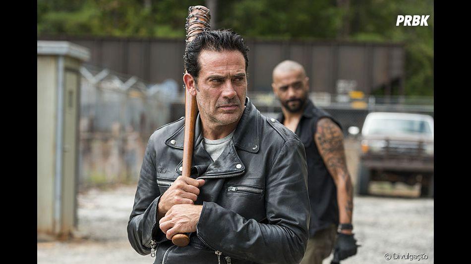 """""""The Walking Dead"""": de vilão a mocinho, Negan (Jeffrey Dean Morgan) conseguiu conquistar o coração do pessoal"""
