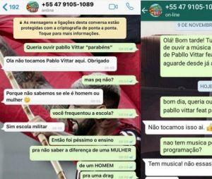 Pabllo Vittar sofre boicote de rádio brasileira