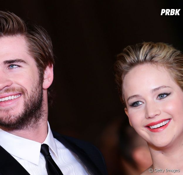 """Liam Hemsworth diz que beijar Jennifer Lawrence em """"Jogos Vorazes"""" foi desconfortável"""