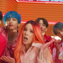 "Halsey ganha presente fofo do BTS após reclamar de ""exclusão"" nas performances de ""Boy with Luv"""