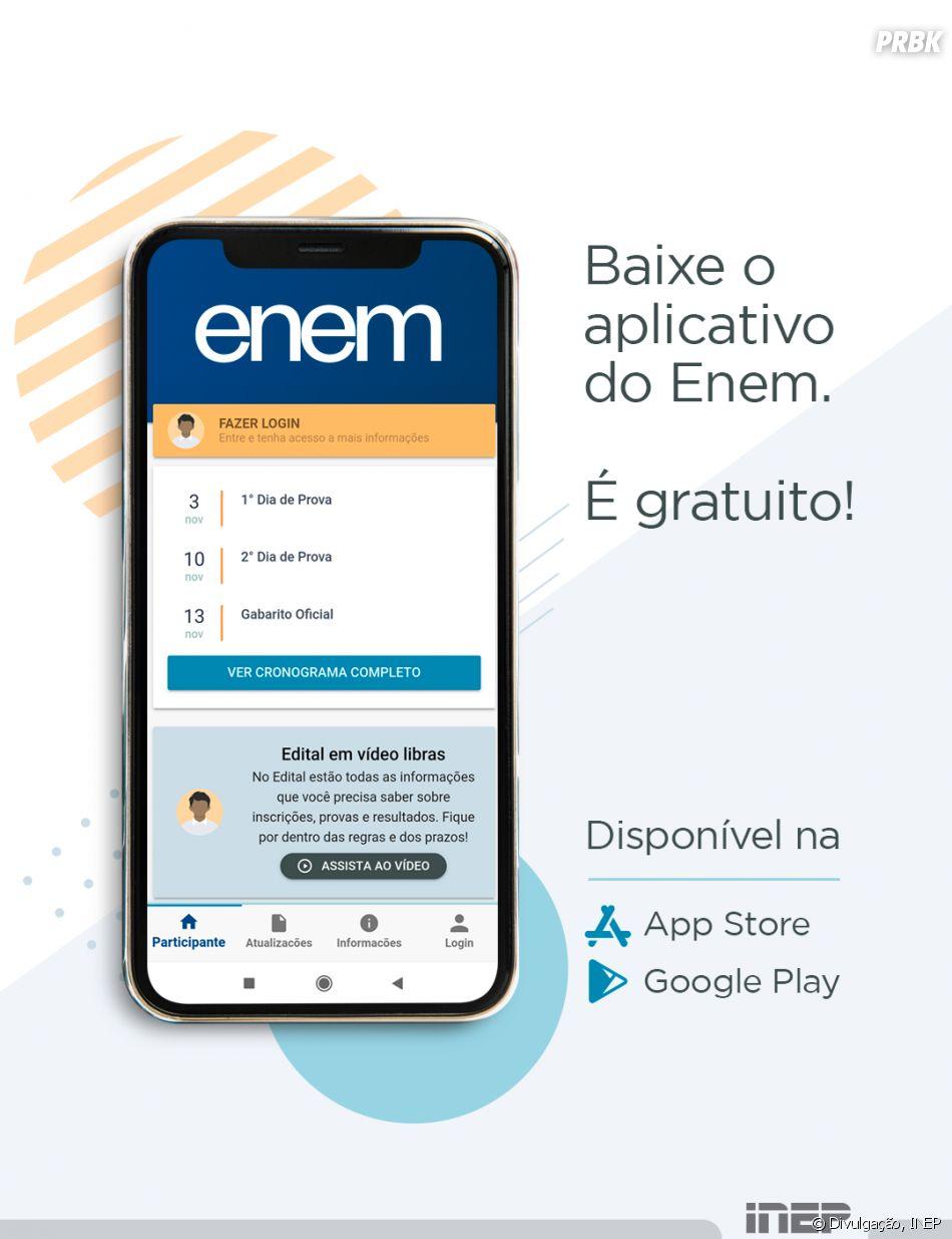 ENEM 2019: aplicativo também é um meio onde você pode consultar suas notas