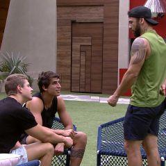 """Marcela e Gizelly são alvo do trio formado por Hadson, Lucas e Felipe no """"BBB20"""""""