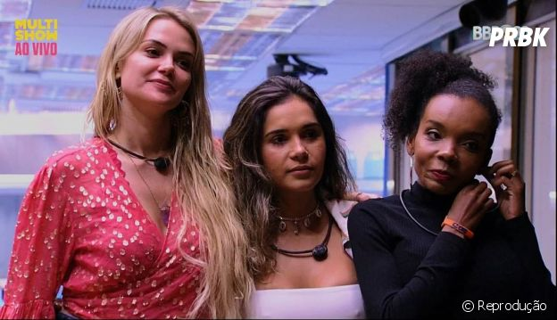 """""""BBB20"""": Thelma e Gizelly estão achando que Daniel pode estar se aproveitando da força de Marcela"""