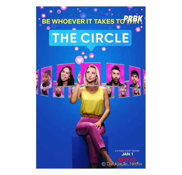 """""""The Circle"""" é um dos realities de mais sucesso da Netflix"""