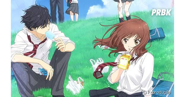 """""""Ao Haru Ride"""" mostra os desafios de uma menina em conseguir amigas"""