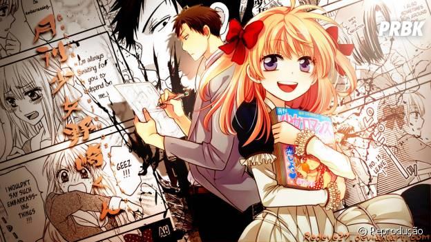 """Sakura vira assistente do seu amado para tentar se aproximar dele em""""Gekkan Shōjo Nozaki-kun"""""""