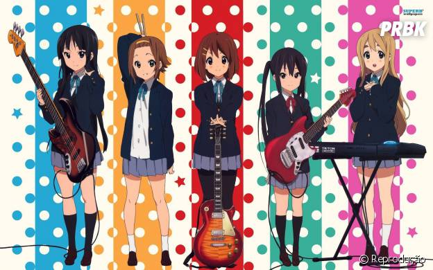 """Um grupo de meninas quer salvar o clube de música em """"K-ON!"""""""