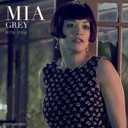 """Em """"50 Tons de Cinza"""": Rita Ora aparece pela primeira vez como a irmã de Christian Grey"""
