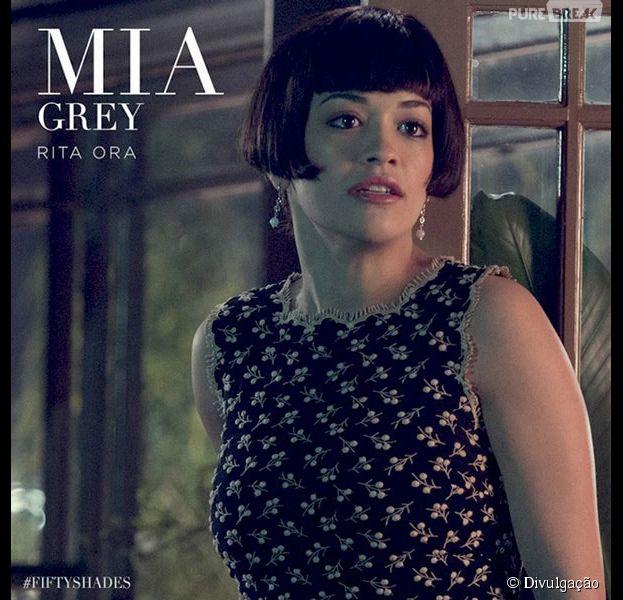 """Rita Ora será Mia Grey em """"Cinquenta Tons de Cinza"""""""