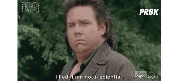 """Eugene (Josh McDermitt) não é um cientista em """"The Walking Dead""""!"""