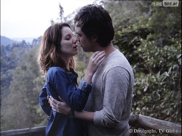 """Em """"Alto Astral"""", Laura (Nathalia Dill) e Caíque (Sergio Guizé) se declaram um para o outro"""