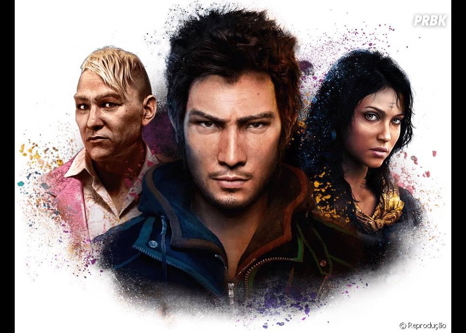 """Se os personagens de """"Far Cry 4"""" fossem desenhos animados, descubra quem seriam"""