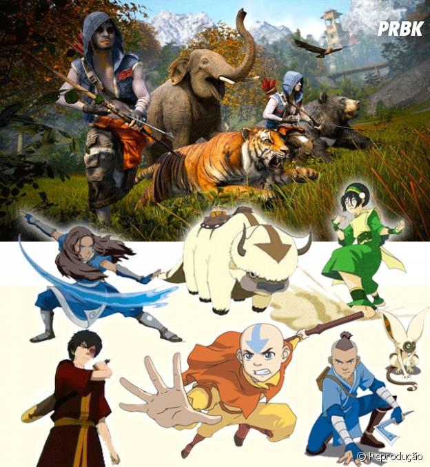 """Os personagens de """"Avatar"""" tem tudo a ver com a Facção Rakshasa de """"Far Cry 4"""""""