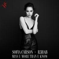 """Estas são as melhores reações dos fãs da Sofia Carson ao lançamento de """"Miss U More Than U Know"""""""
