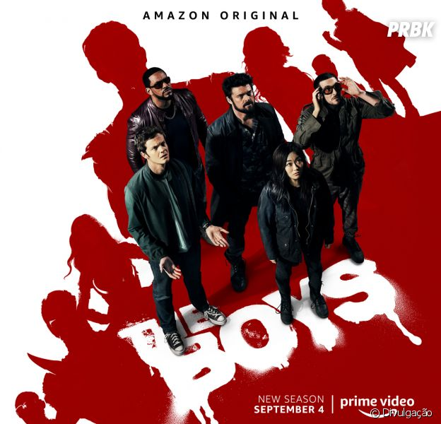 """The Boys"": 2ª temporada estreia 4 de setembro no Prime Video"