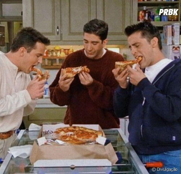 """Em """"Friends"""", a pizza era praticamente um personagem da série"""