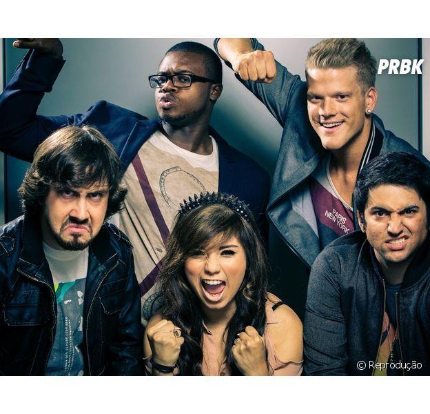 Grupo Pentatonix é sucesso no Youtube em diversos lugares do mundo