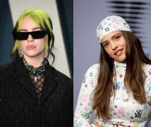 Quiz: você faria uma parceria com Billie Eilish ou Rosalía?
