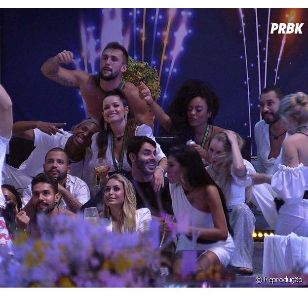 """""""BBB21"""": festa empolga casa mas não anima público"""