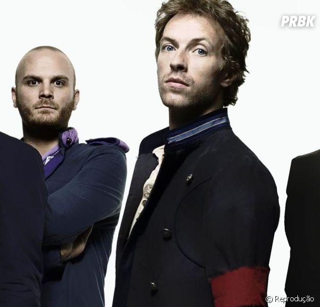 """A banda britânica Coldplay lançou a música """"Miracles"""" para o filme """"Invencível"""", de Angelina Jolie"""