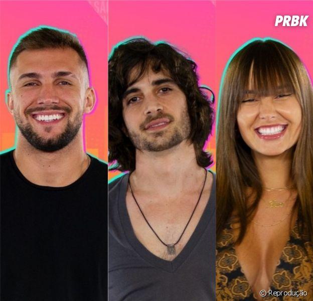 """Enquete """"BBB21"""": Arthur, Fiuk ou Thaís, quem será o próximo eliminado do reality show?"""