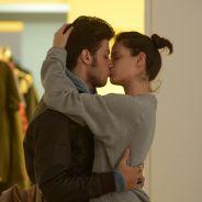 Chay Suede e Laura Neiva trocam beijos picantes em bastidores de ensaio fotográfico
