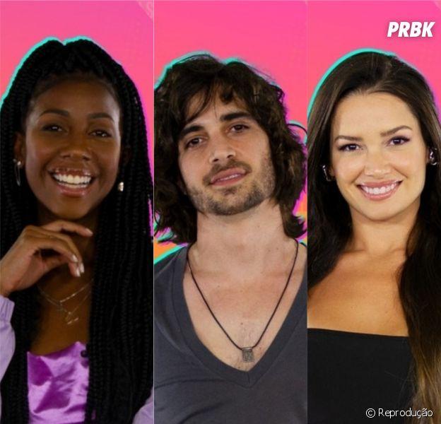 """Quem ganha o """"BBB21"""": Camilla de Lucas, Fiuk ou Juliette?"""