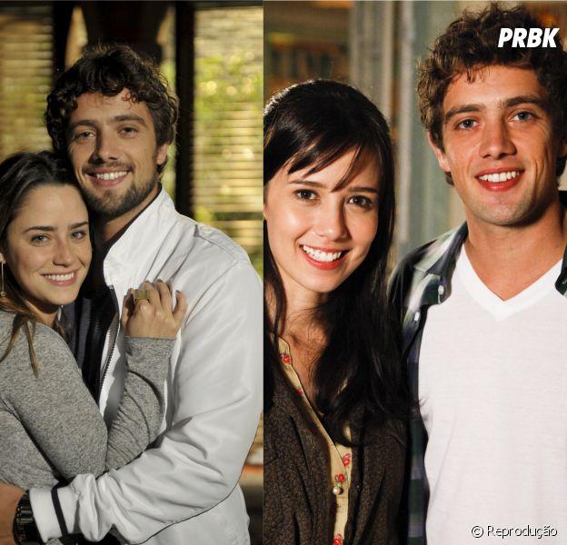 """""""A Vida da Gente"""": Ana (Fernanda Vasconcellos) e Rodrigo (Rafael Cardoso) ou Manuela (Marjorie Estiano) e Rodrigo, para qual casal você torce mais?"""