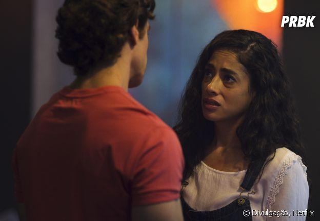 """""""Quem Matou Sara?"""": Clara (Fatima Molina) é muito mais do que aparenta"""
